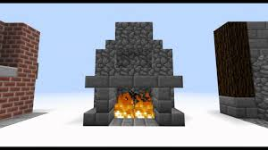 My Fireplace Kept Burning My Log Cabin Down  MinecraftFireplace In Minecraft