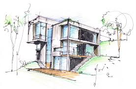 modern architecture sketch. Perfect Sketch Gallery Of Casa U  MATERIA  24 Intended Modern Architecture Sketch