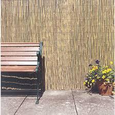 garden screen. Apollo Natural Timber Full Bamboo Garden Screen 2 X 4m | Screening Screwfix.com