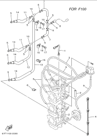 Yamaha outboard motor parts diagram new impression carburetor 3 f 100