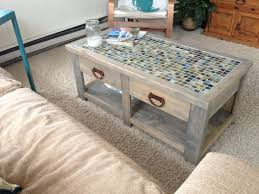 Tile Coffee Table DIY Nice Ideas