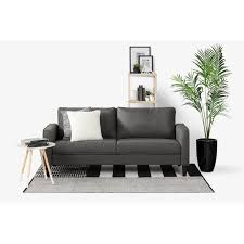 Dark gray couch Pillow Rc Willey Charcoal Gray Sofa Liveit Cozy Rc Willey Furniture Store