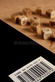 isbn code on book cover stock image image of book barcode 104684083
