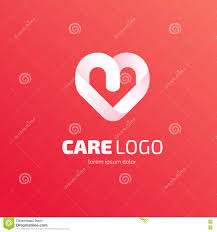 Compassionate Care By Design Logo Design Care Vector Template Stock Vector Illustration