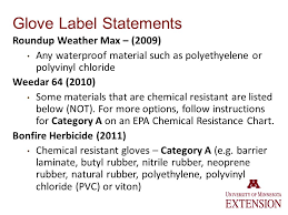 Epa Chemical Resistance Chart Label Confusion Pesticide Safety Environmental Education