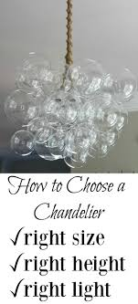 chandelier ing tips learn the right size to height to hang an necessary