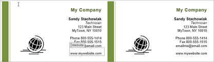 business cards with word business card word template 2013 advanced visiting lovable 6 17331