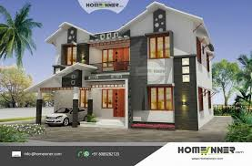 Contemporary Style Home Plans In Kerala Awesome 2292 Sqft 5 Bhk Modern  Attractive Kerala House Design