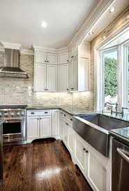 White kitchen dark wood floor Country Style Wood Cabinets With Wood Floors Spectacular White Kitchens With Dark Wood Floors Home Garden Sphere Wood Lisgold Wood Cabinets With Wood Floors Spectacular White Kitchens With Dark