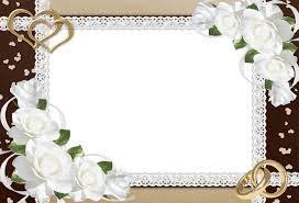 fancy frame border transparent. Wedding Frame Picture 8479 Fancy Border Transparent O
