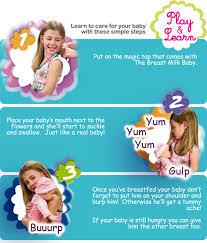 Toys infant breast feeding
