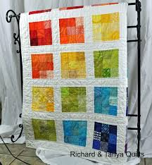 Patchwork Quilt Patterns Impressive Very Easy Beginner Quilt Patterns Easy Quilts To Make Pinterest Easy
