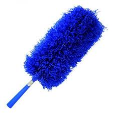 ceiling fan duster with extension pole. *sale* duster: fluffy microfiber, bendable, extendable with hand wand threaded for ceiling fan duster extension pole