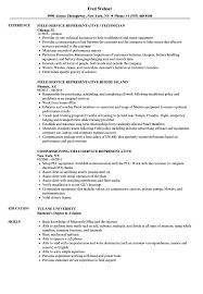 Field Service Representative Sample Resume Representative Field Service Resume Samples Velvet Jobs 22