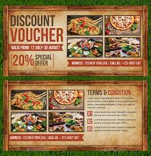 19 Restaurant Discount Coupon Designs Templates Psd Ai