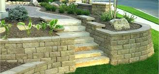 ideas to cover concrete block wall decorating concrete block walls another example of a concrete block retaining wall ideas for covering concrete ideas