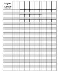 Editable Gradebook Template By Kristin Boos Teachers Pay Teachers