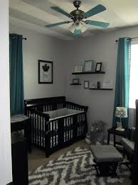 baby boy furniture nursery. grey chevron and teal or turquoise boysu0027 nursery room with black furniture exactly how i want my baby nursey mag boy