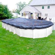 oval above ground pool sizes. Beautiful Sizes Robelle Standard 12 Ft X 24 Pool Size Oval Winter Above Ground Leaf On Sizes A