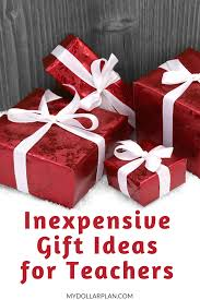 inexpensive gift ideas for teachers including books coffee homemade giftore