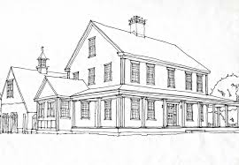 colonial house plans. CChonline Farmhouse Rendering Colonial House Plans