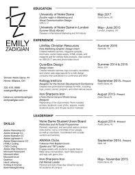 Resume — Portfolio | Emily Zadigian