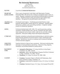 Industrial Maintenance Mechanic Sample Resume 100 best Industrial Maintenance Resumes images on Pinterest 10
