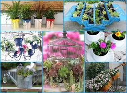 40 Unique & Fun Container Garden Ideas