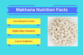 Nuts Nutrition Chart Makhana Nutrition Facts Fox Nuts Nutritional Value Ayur
