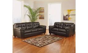 ashley furniture ash 20101 38 35 contemporary leather living room sets brown