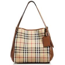 check small. Picture Of Burberry Horseferry Check Small Canterbury Panels Tote S