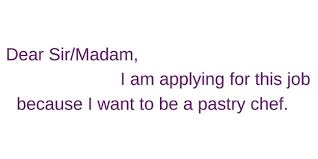 Pastry Chef Cover Letters