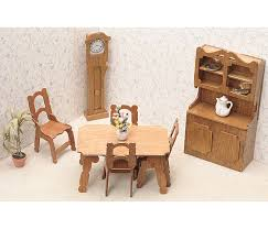 cheap wooden dollhouse furniture. Amazon.com: Greenleaf Dollhouse Furniture Kit For Bedroom: Arts, Crafts \u0026 Sewing Cheap Wooden S