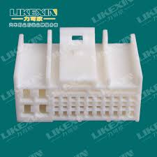 electrical auto ecu connector wiring harness plastic housing  electrical auto ecu connector wiring harness plastic housing 23 pins female connector