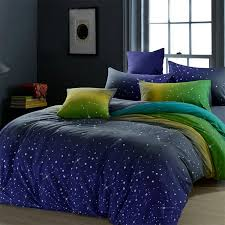 blue and green amazing bedding sets