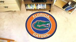 florida gators rug excellent gators rug university of logo roundel mat