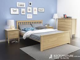 Modern Bedroom Furniture Melbourne Dandenong Queen Bed Frame Timber B2c Furniture
