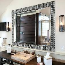 black framed bathroom mirrors. 30 Black Framed Bathroom Mirrors H