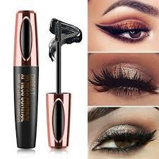 <b>QIBEST</b> Waterproof 4D Makeup <b>Eyelash Mascara Silk Fiber Lash</b> ...