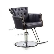 Shengyu Black Hydraulic Styling Barber Chair Hair Spa Beauty Salon Equipment - Walmart.com