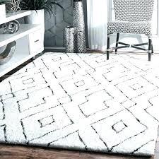 white fuzzy rug fuzzy rug gray handmade plush white grey diamond lattice for bedroom dorm