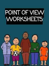 Point Of View Worksheets - Study Unit PDF Download