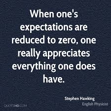 Quotes About Expectations Awesome Stephen Hawking Quotes QuoteHD