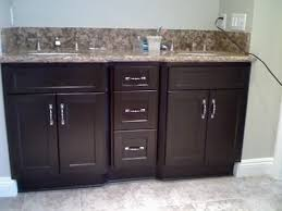 bathroom double sink cabinets. ample storage space bathroom sink cabinet hornickassoc cabinets double e