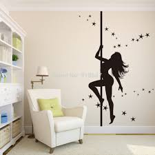 Small Picture New Design Dancing Girl Wall Sticker Large Size Wall Decals180