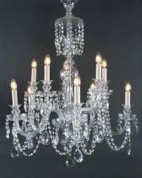 frightening bohemian crystal chandelier antique fritz fryer 1 photos