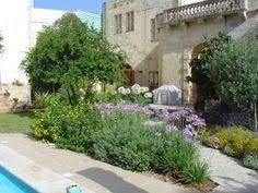 Small Picture Small space Mediterranean garden design with softly coloured