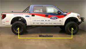 Suv Wheelbase Chart The Ford Truck Suv Wheelbase Chart