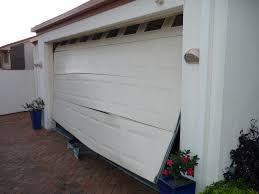broken overhead garage door springs