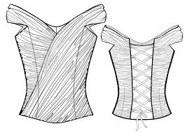 Corset Pattern Free New Corset Sewing Pattern 48 Madetomeasure Sewing Pattern From